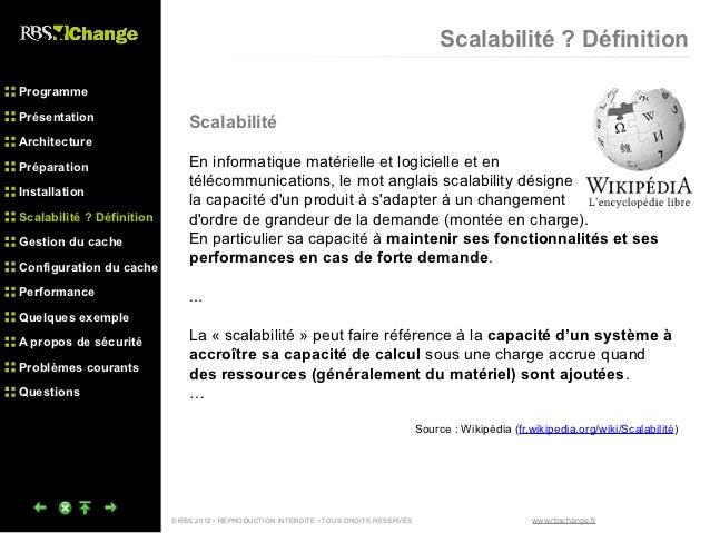 Rbs change architecture et scalabilit for Architecture informatique definition