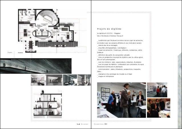 Architecture d\'intérieure par l\'Académie Charpentier