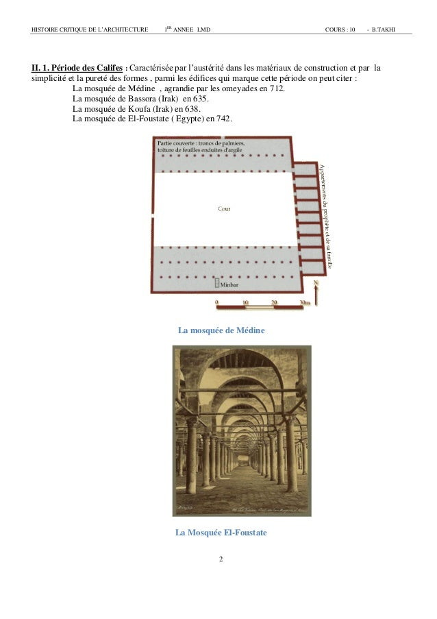 Architecture islamique 1 cours for Architecture chinoise