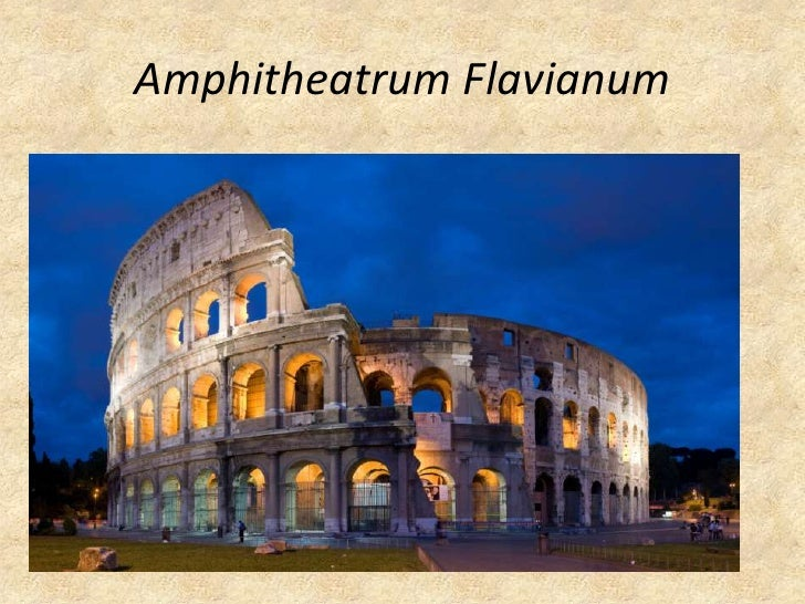 AmphitheatrumFlavianum<br />