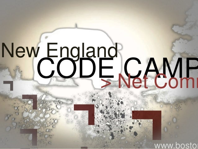 New England CODE CAMP> Net Comm www.boston