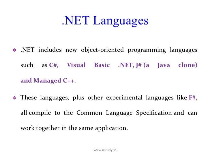 Visual Basic Programmer's Guide to the .NET Framework ...