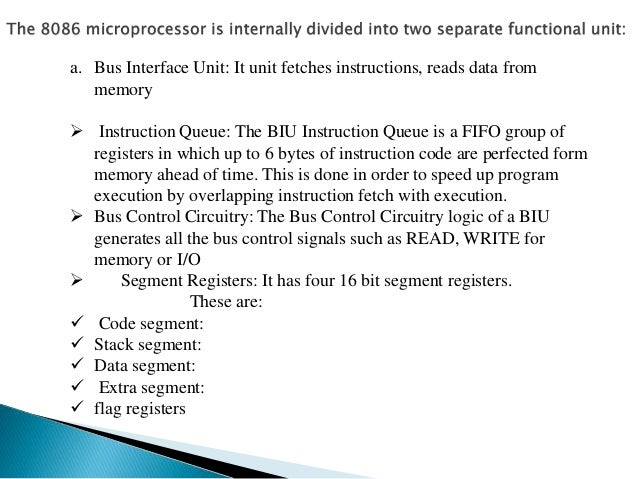 Architecture of 8086 for Internal architecture of 8086