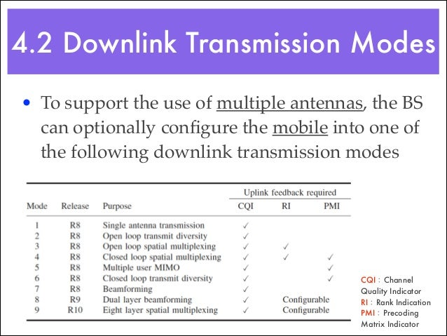 5.1 Downlink Resource Element Mapping • LTE physical layer transmits the physical channels and physical signals by mapping...