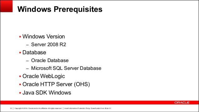Architecture Performance And Tips And Tricks For Instantis Enterprise - Architecture prerequisites