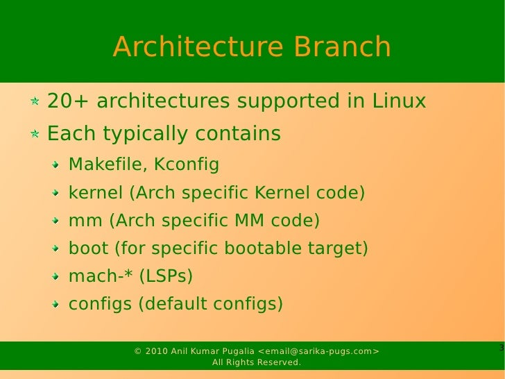 Architecture Porting Slide 3