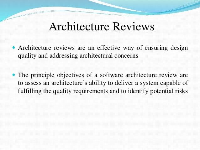 Architecture ...