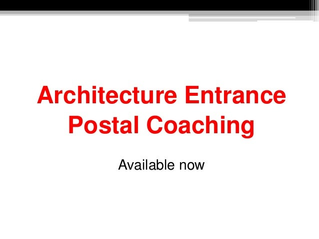Architecture Entrance Postal Coaching Available now