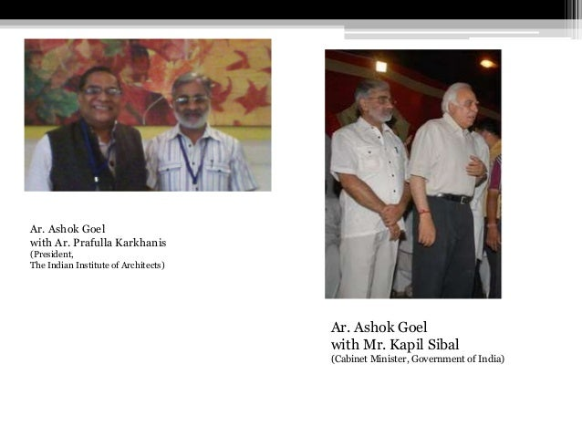 Ar. Ashok Goel with Future Architects