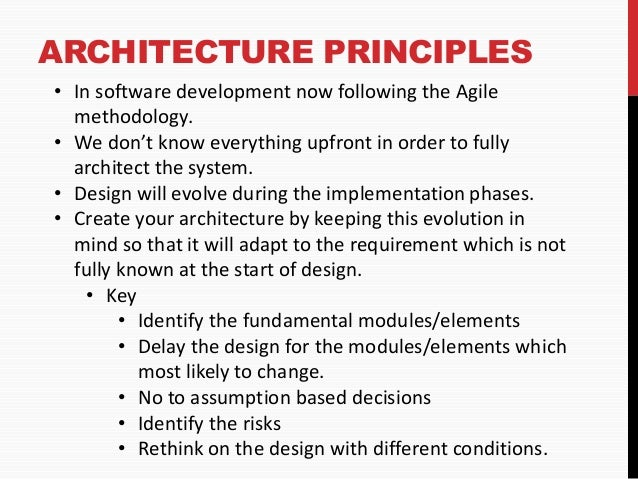 Software Architecture Practices
