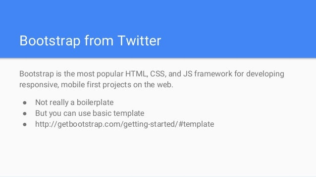 HTML, CSS & Javascript Architecture (extended version) - Jan Kraus