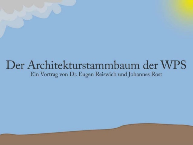 Architekturstammbaum der WPS