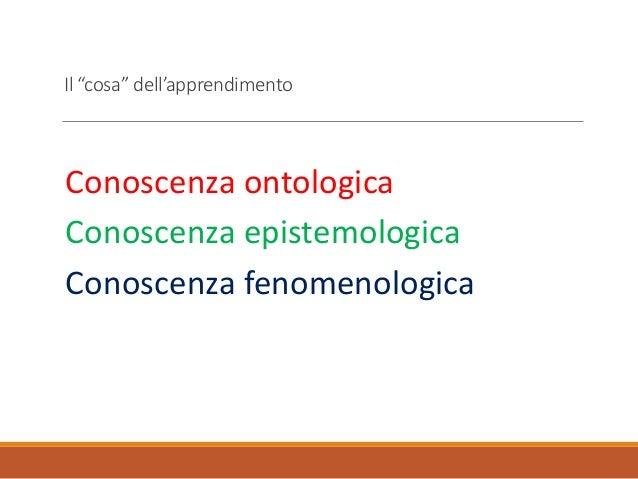 Architettura della cognizione umana Slide 2