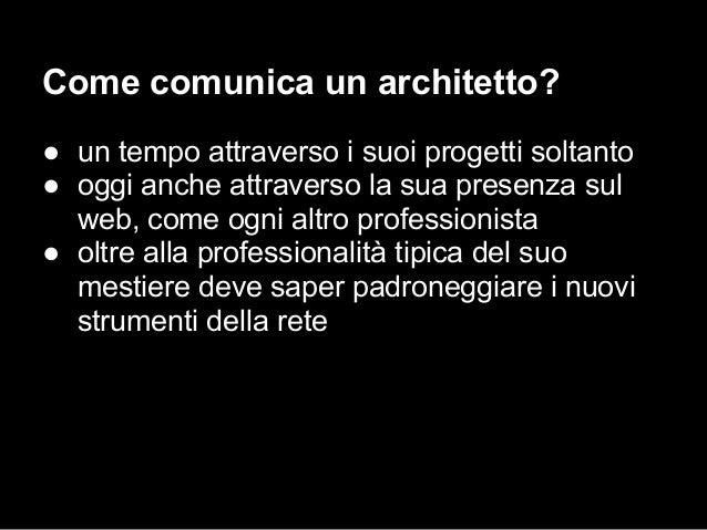 Architettura E Comunicazione Iuav