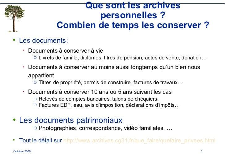 Que Restera T Il De Nos Archives Personnelles En 2030 2009