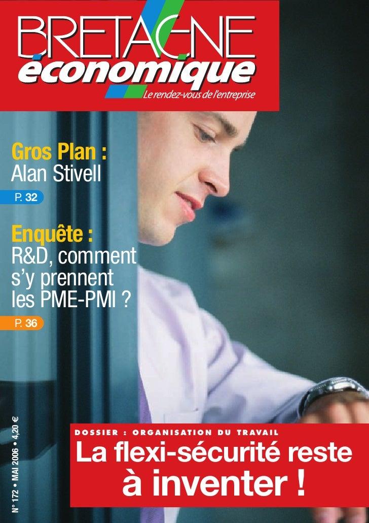 Gros Plan :   Alan Stivell          P 32           .   Enquête :   R&D, comment   s'y prennent   les PME-PMI ?          P ...