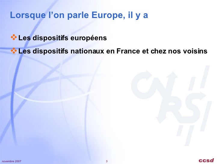 Archives ouvertes - Perspectives Europeennes Slide 3