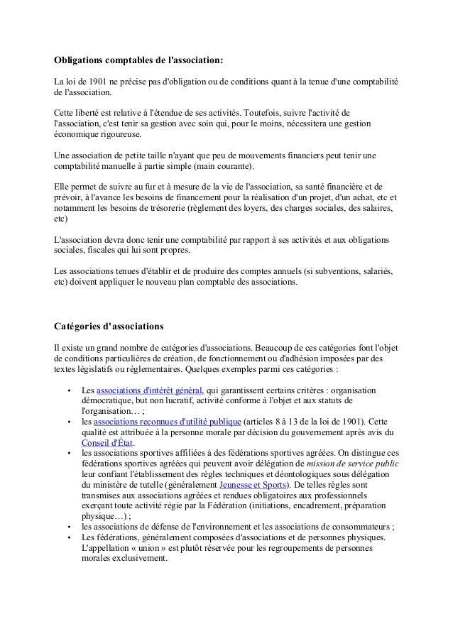 Archives Associations Loi 1901