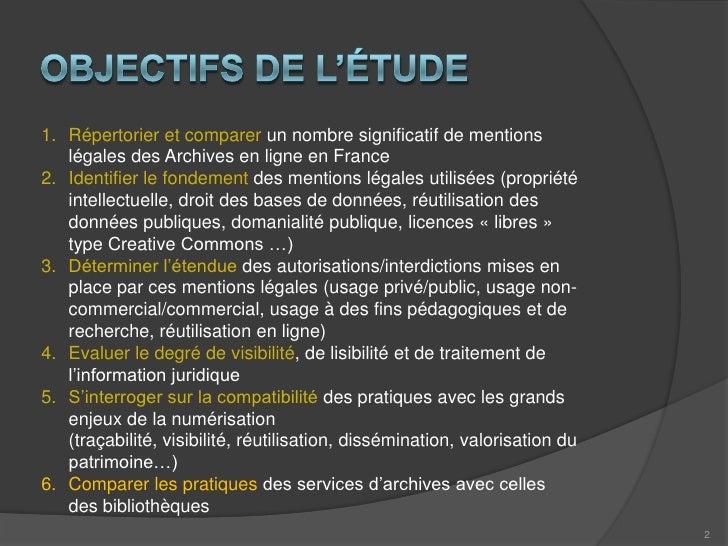 Archives En Ligne Et Mentions Legales Slide 2