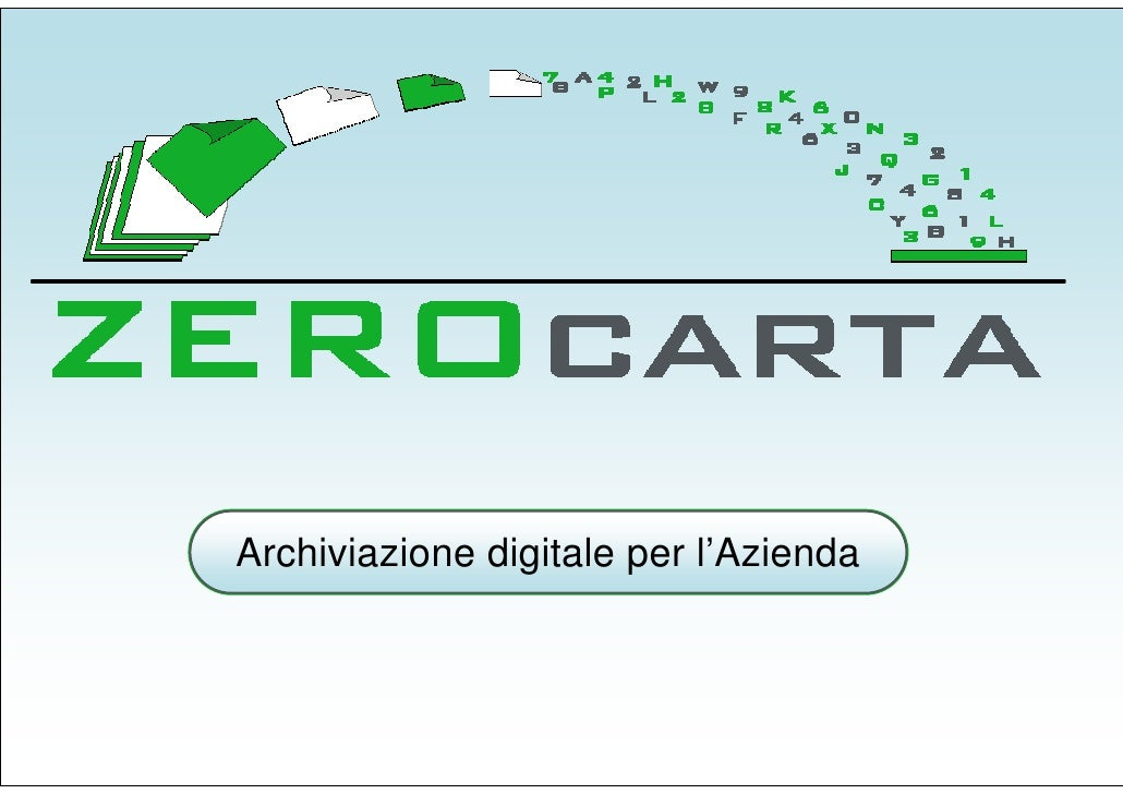 Archiviazione digitale per l'Azienda
