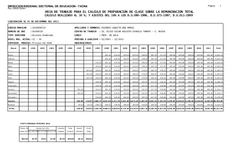 DIRECCION REGIONAL SECTORIAL DE EDUCACION - TACNA                                                                         ...