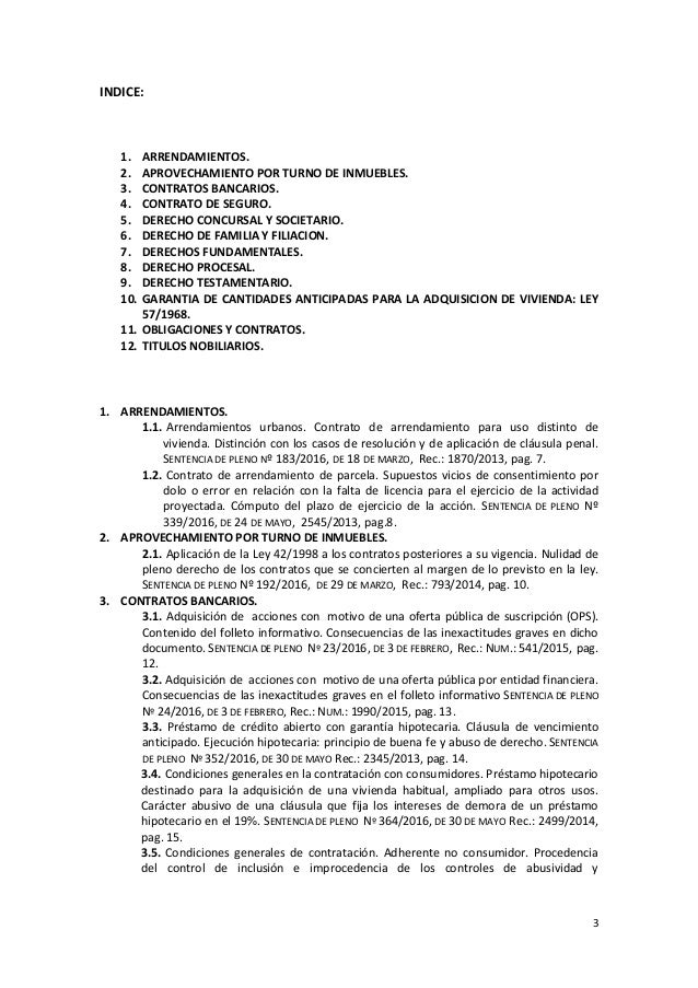 Doctrina jurisprudencial de la sala primera del tribunal for Sala 4 tribunal supremo