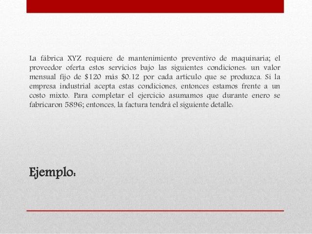 DESAGREGACIÓN DE COSTOS Slide 3