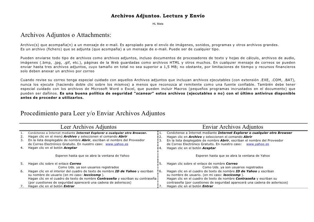 Archivos Adjuntos. Lectura y Envío                                                                                   HL Ma...