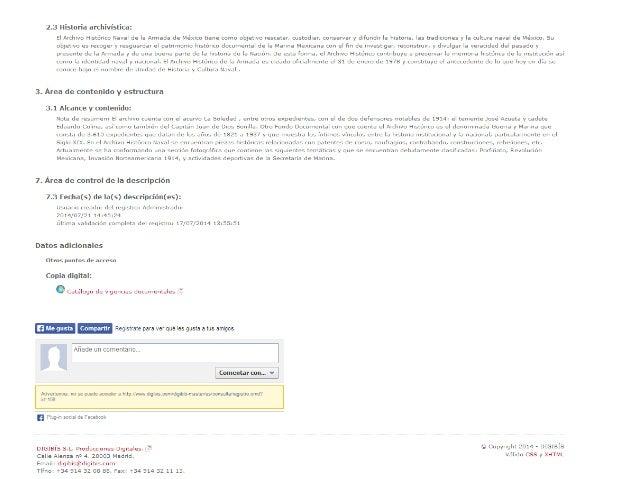 Descripción del fondo Archivo de Concentración, con inclusión de las secciones que lo componen