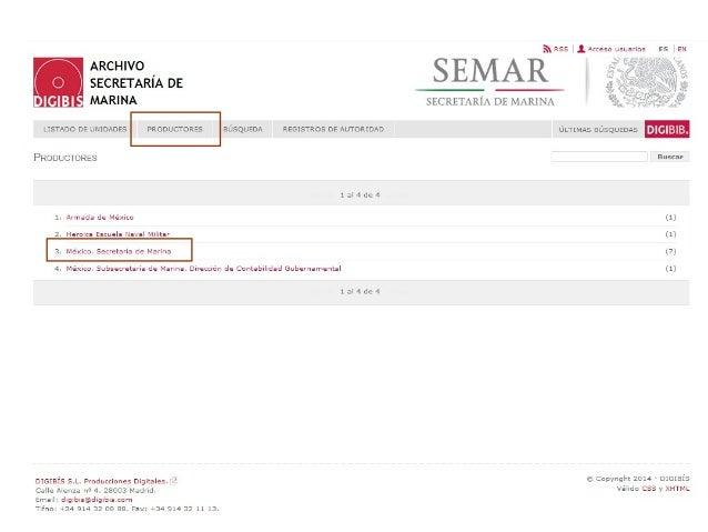Descripción ficticia de una supuesta sección. Se indica que el acceso a la documentación es público