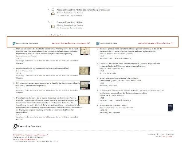Descripción ficticia de una supuesta sección. Se le ha añadido el mismo objeto digital, pero no se permite el acceso a los...