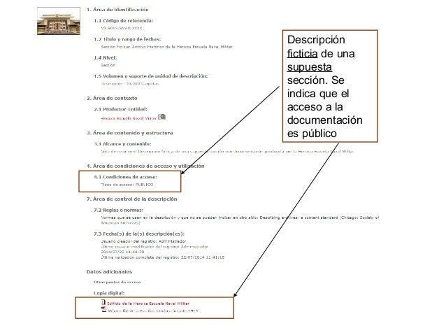 Visualización del organigrama de la Secretaría de Marina con el visualizador de DIGIARCH WEB. Acceso a los distintos objet...