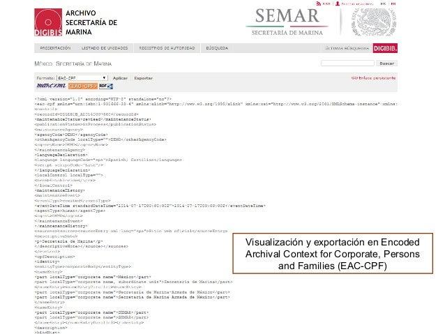 Al hacer click en el icono se abre en una nueva pestaña la página solicitada, en este caso el Virtual International Author...