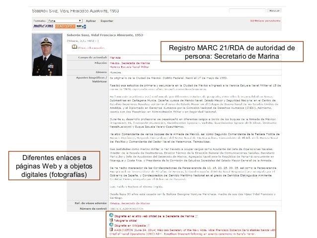 Registro del Archivo de la Secretaría de Marina en el repositorio OAI, en EDM