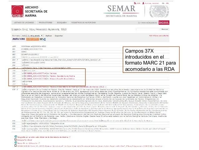 Continuación del registro del Archivo de la Secretaría de Marina en el repositorio OAI, en EDM