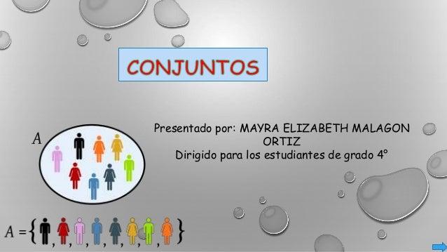 Presentado por: MAYRA ELIZABETH MALAGON ORTIZ Dirigido para los estudiantes de grado 4°