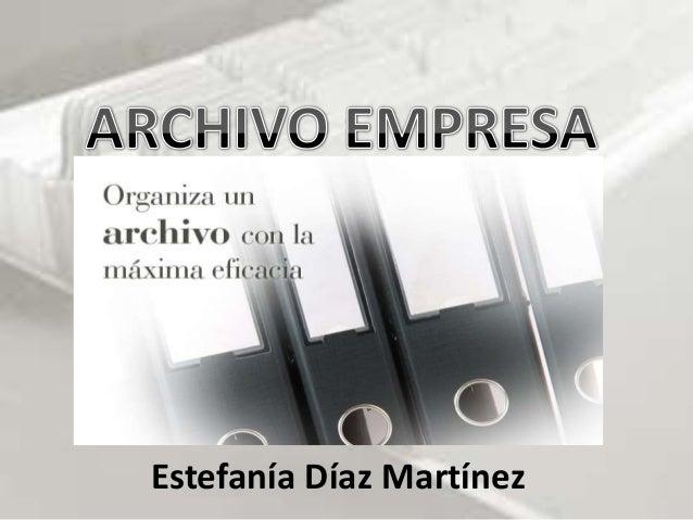 Estefanía Díaz Martínez