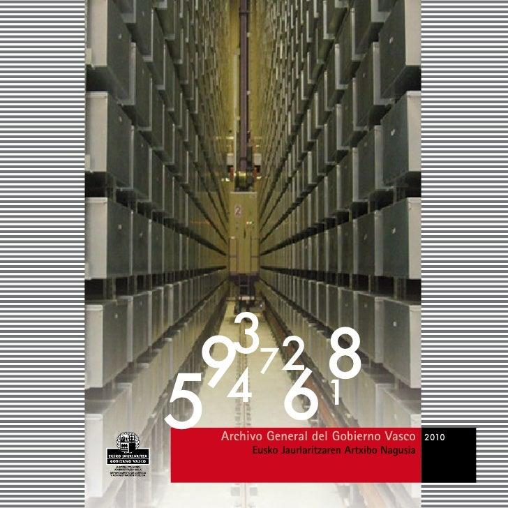 372  9 68 5 4 1  Archivo General del Gobierno Vasco       Eusko Jaurlaritzaren Artxibo Nagusia                            ...