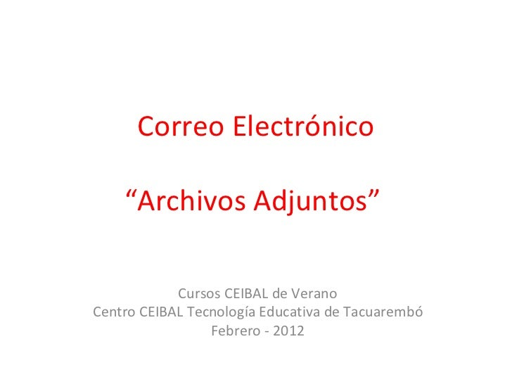 Archivos adjuntos