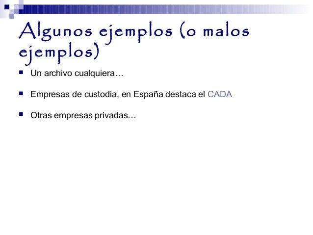 Las fases del archivo i el archivo de oficina y el for Ejemplos de oficinas
