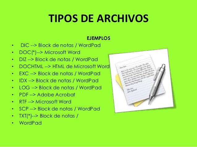 Diferentes tipos de archivos pdf tipos de archivo for Tipos de mobiliario urbano pdf