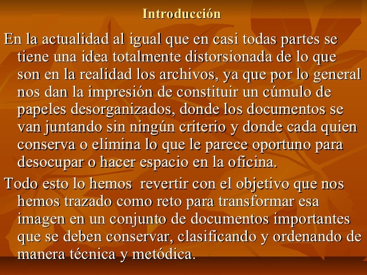 Archivo y control de documentos 468 Slide 2