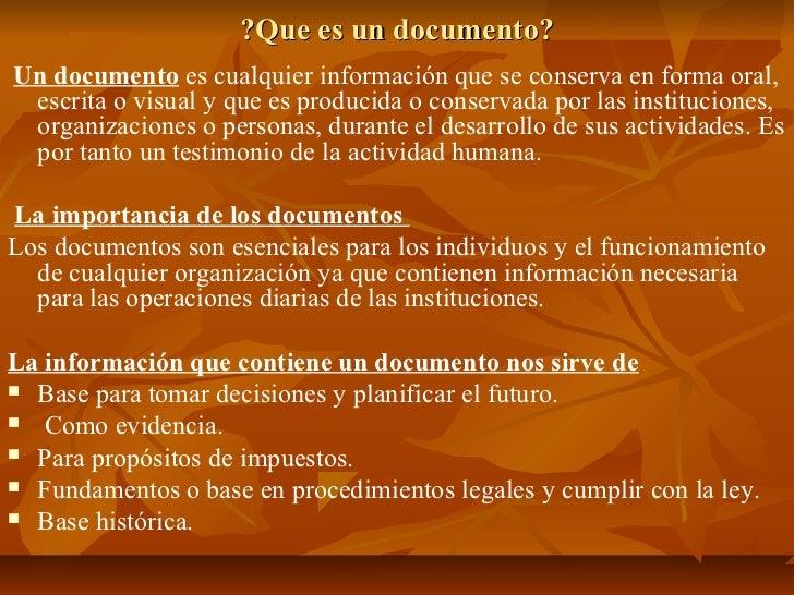 Archivo y control de documentos 468 Slide 3