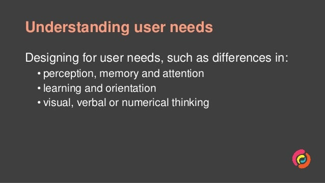 Designing for people with cognitive impairments Slide 2