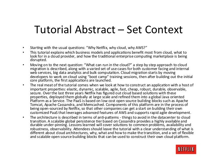 Cloud Architecture Tutorial - Why and What (1of 3)  Slide 2