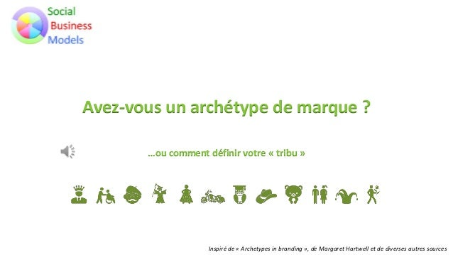 Avez-vous un archétype de marque ? …ou comment définir votre « tribu » Inspiré de « Archetypes in branding », de Margaret ...