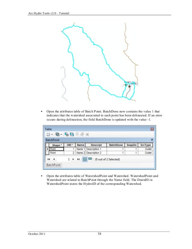Arc hydro tools 2 0 tutorial
