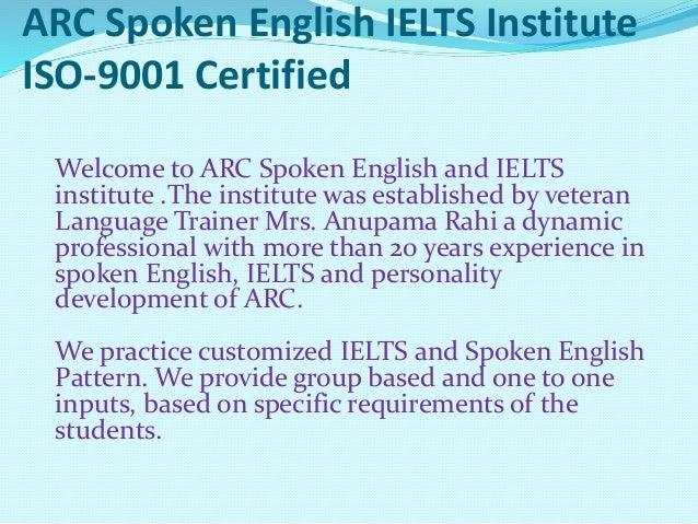 Arc ielts and spoken english institute zirakpur Slide 2