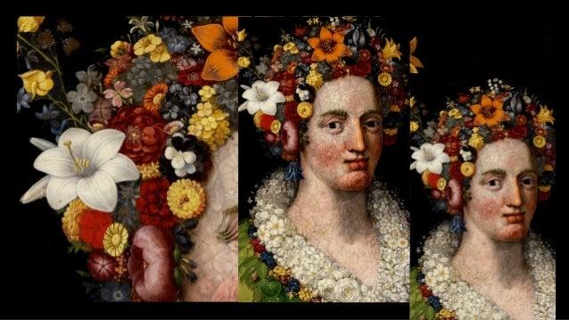 ARCIMBOLDO, Giuseppe Flora c. 1591 Oil on panel, 73 x 56 cm Private collection