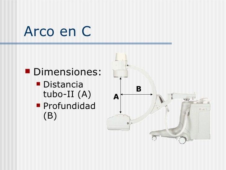 Arco en c for Cuarto de rayos x medidas